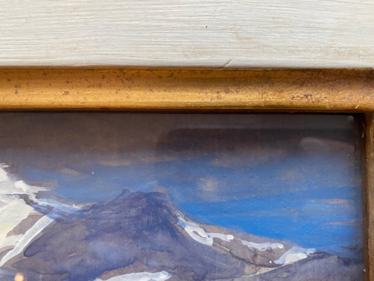 Alpi Apuane, Italy 03.09.2018 - American Impressionist Art by Nelson H. White