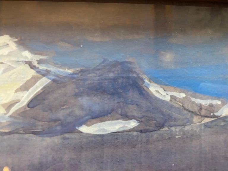 Alpi Apuane, Italy 03.09.2018 - Beige Landscape Art by Nelson H. White