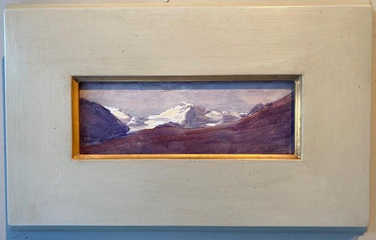 Nelson H. White Landscape Painting - Alpi Apuane, Italy