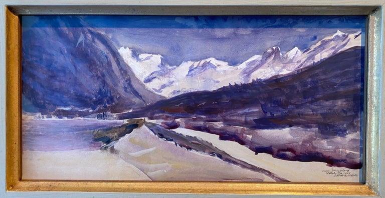 Bever, Switzerland 03.24.2018 - Art by Nelson H. White