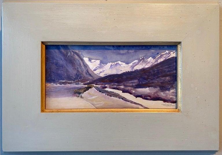 Nelson H. White Landscape Art - Bever, Switzerland 03.24.2018