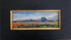 The Italian Poppy Fields, Individual Style, Outdoor and Nature, American Artists