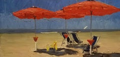 The Red Umbrellas, Italian Beach, Individual Style, Outdoor and Nature