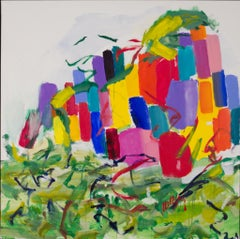 Return to The Meadow- Vivid colors 60 X 60
