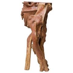 Nemean Lion Natural Wood Tea Table