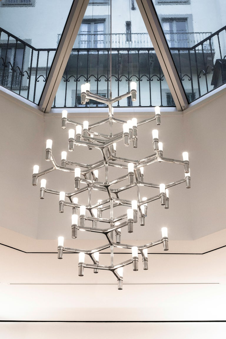 Contemporary Nemo Crown Summa Dimmable Pendant Chandeliers by Jehs + Laub For Sale