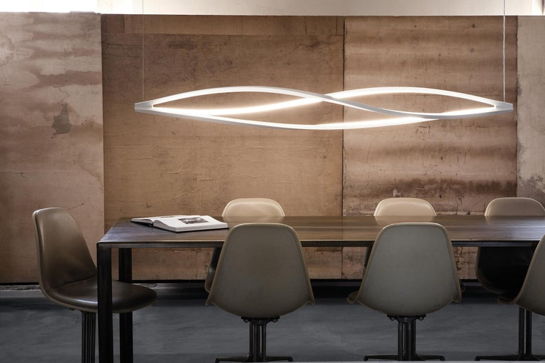 Modern Nemo in the Wind Pendant Horizontal Dimmable Lamp LED 2700K by Arihiro Miyake For Sale