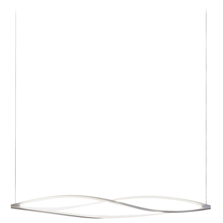 For Sale: White (White ) Nemo in the Wind Pendant Horizontal Dimmable Lamp LED 2700K by Arihiro Miyake
