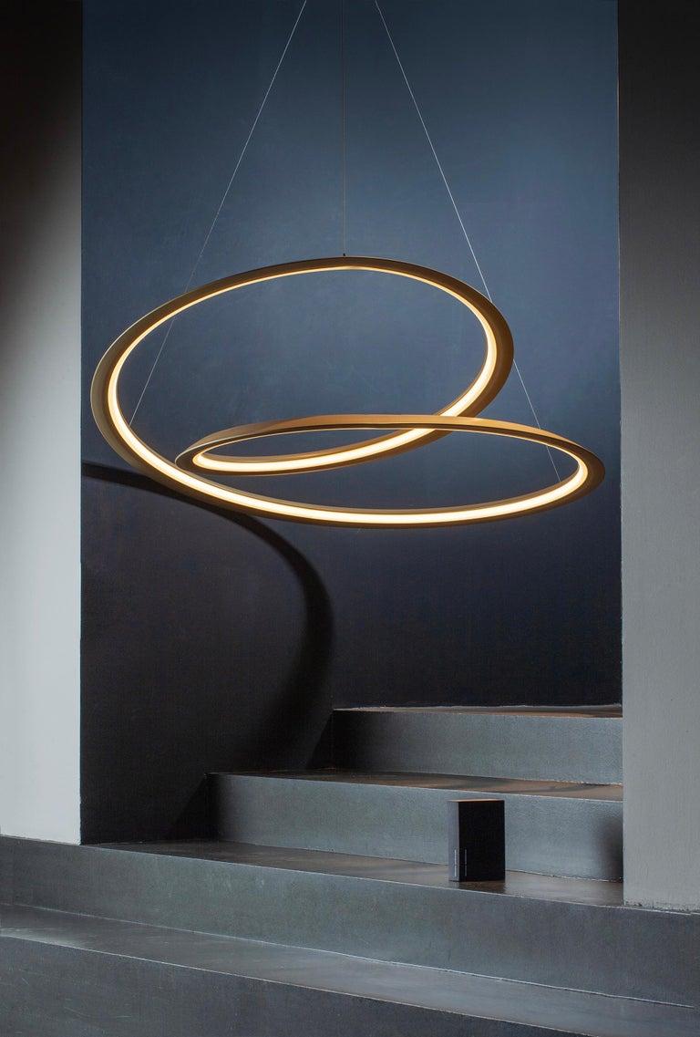 Nemo Kepler Downlight LED 2700K Dimmable Pendant Lamp by Arihiro Miyake For Sale 2