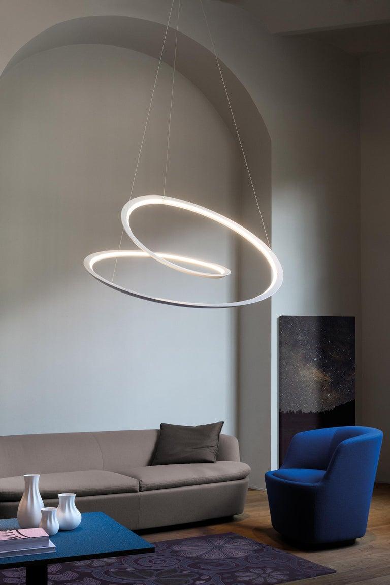 Nemo Kepler Uplight LED 3000K Dimmable Pendant Lamp by Arihiro Miyake For Sale 3