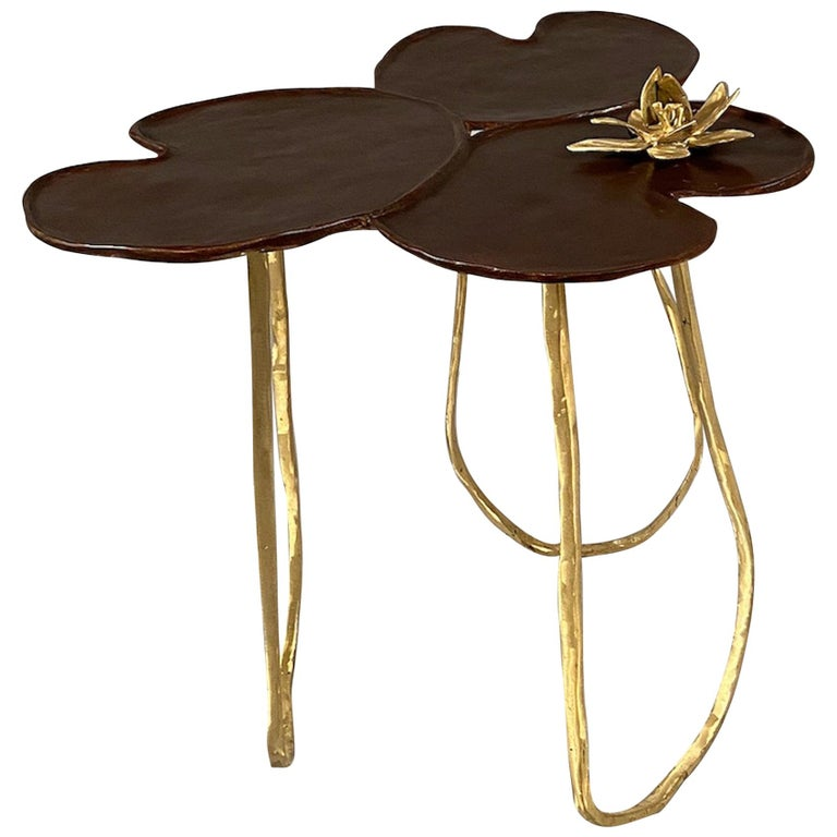 """""""Nénuphar"""" Side Table For Sale"""