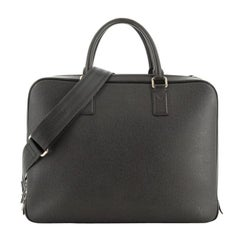 Neo Alexander Briefcase Taiga Leather