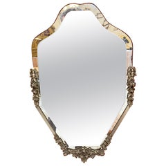 Neoclassic Art Deco Style Mirror circa 1949 Everything is in Good Condition