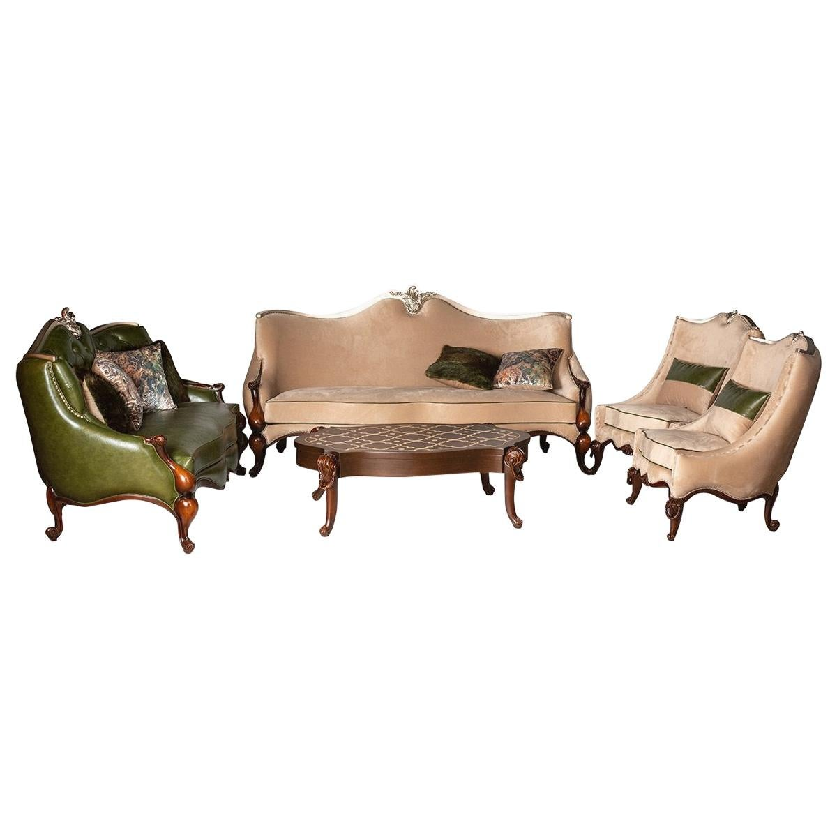 Neo-Classic Living Room (5 PIECES), 20th Century