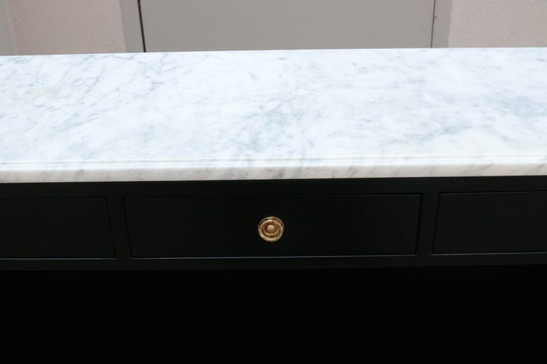 Modern Neoclassical Inspired Étagère For Sale