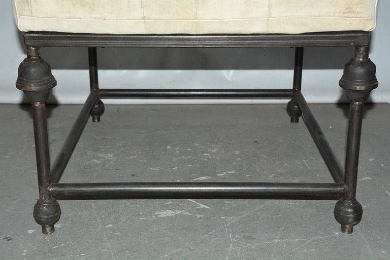 Neo-Classical Iron Base Stool For Sale 3