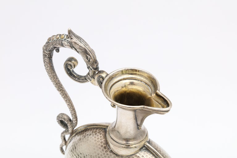 Neoclassical Style Continental Silver '.800' Ewer/Pitcher For Sale 8