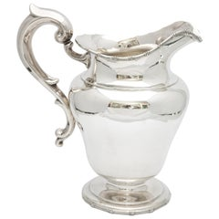 Neoclassical-Style Sterling Silver Water Pitcher