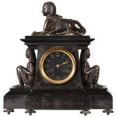 Neo-Egyptian Clock Attributed to G. Servant