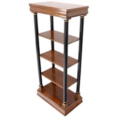 Neo-Empire 5-Tier Tall Entry Hall Shelf Bookcase with One Drawer Storage
