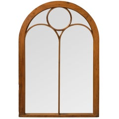 Neo-Gothic Mirrored Window Panel