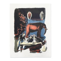 Das Blatt, 2019, Lithograph, Contemporary Painting