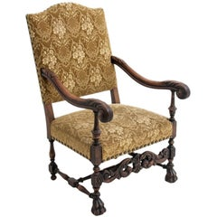 Neo-Renaissance Antique Armchair from circa 1910