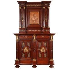 Neo-Renaissance Cabinet by P. Sormani and E. Lièvre