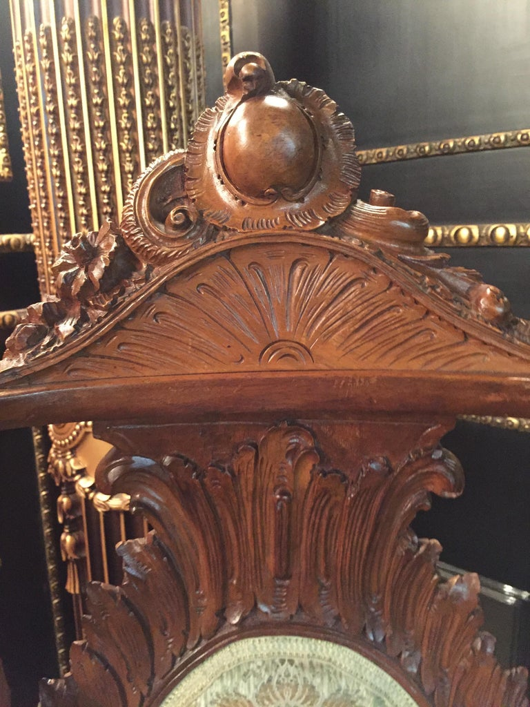 Neo Renaissance Full Carved Set of Sofa,Armchair, Chair and Table, circa 1860 For Sale 10