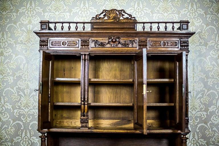 Neo-Renaissance Oak Cupboard, circa 1890 For Sale 5