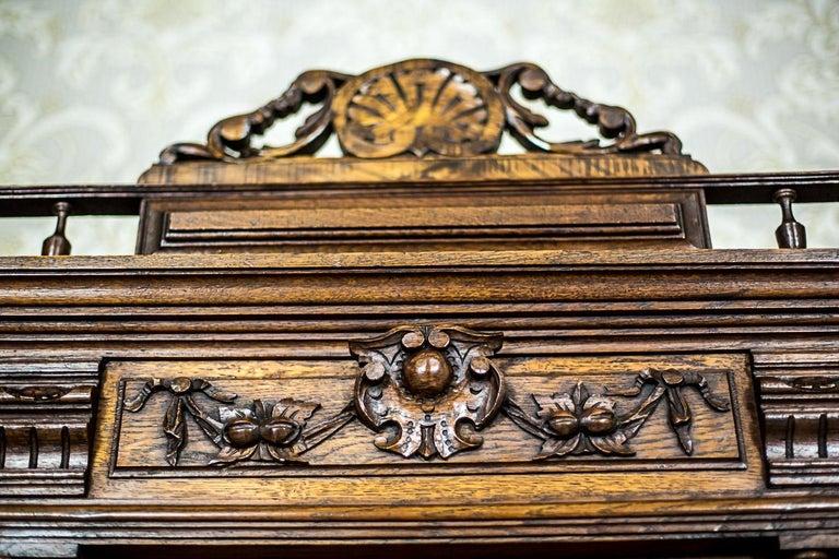 19th Century Neo-Renaissance Oak Cupboard, circa 1890 For Sale