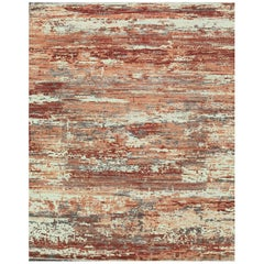 Neo Villa Contemporary Wool and Viscose Hand Woven Rug