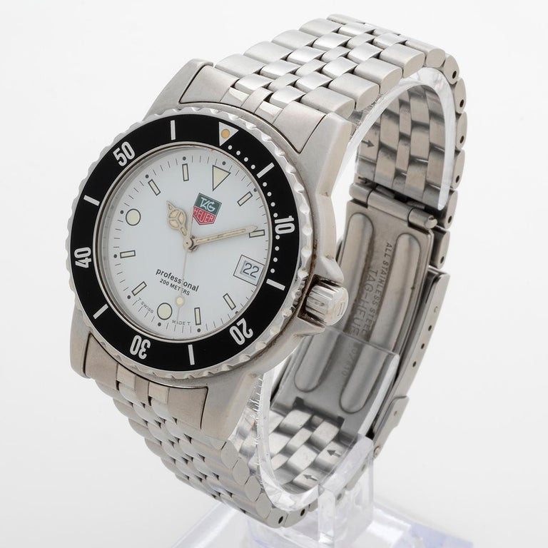 Women's or Men's Neo Vintage TAG Heuer 1500 Series, Ref WD1213, Excellent Condition, with Box For Sale