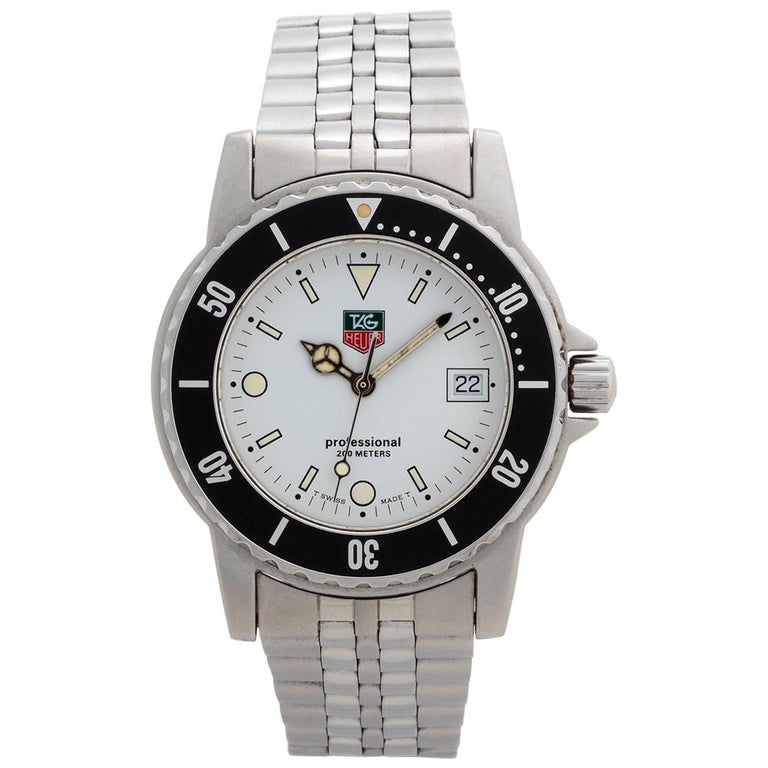Neo Vintage TAG Heuer 1500 Series, Ref WD1213, Excellent Condition, with Box For Sale