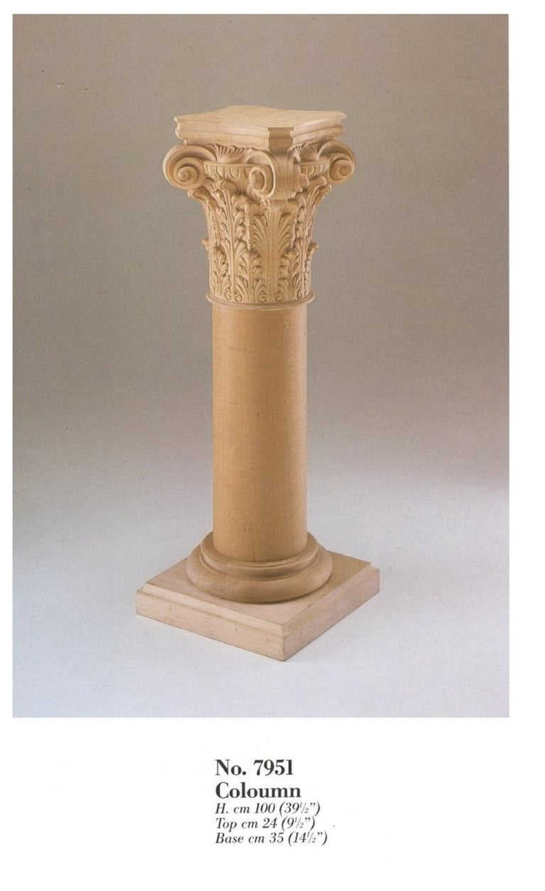 Neoclassic pedestal, flower holder column