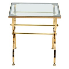 Neoclassical Brass Drinks Table