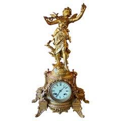 NeoClassical Bronze Mantle Clock