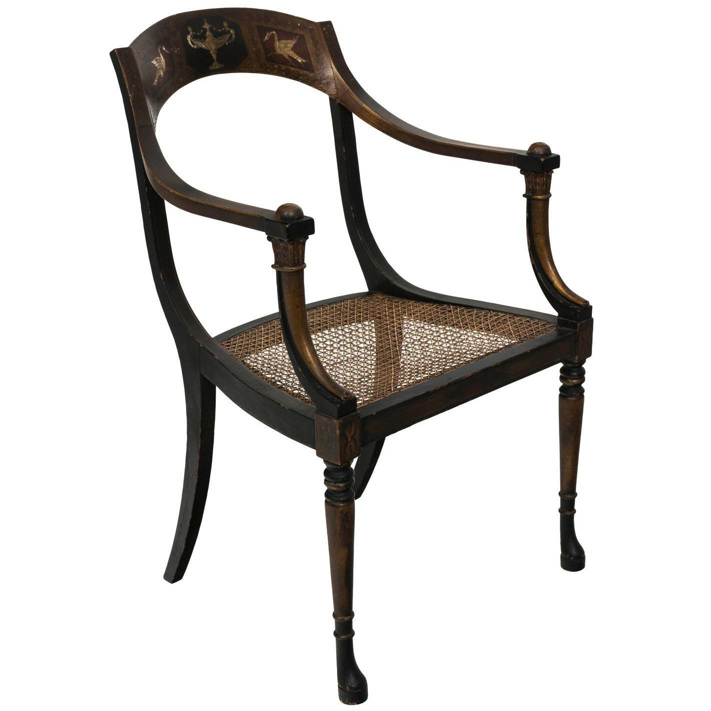 Bon Neoclassical Chair, Circa 1920s