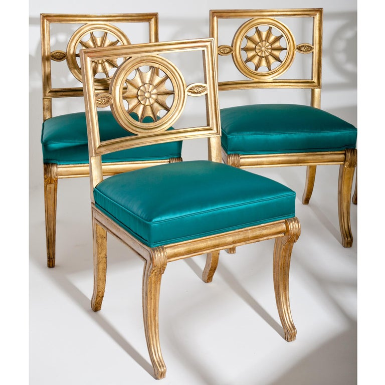 Neoclassical Chairs, Berlin First Half of the 19th Century For Sale 6
