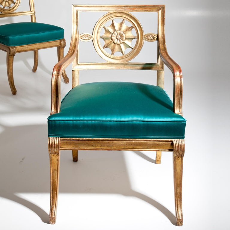 Neoclassical Chairs, Berlin First Half of the 19th Century For Sale 7