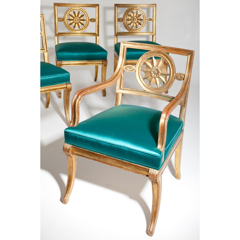 Neoclassical Chairs, Berlin First Half of the 19th Century For Sale 8