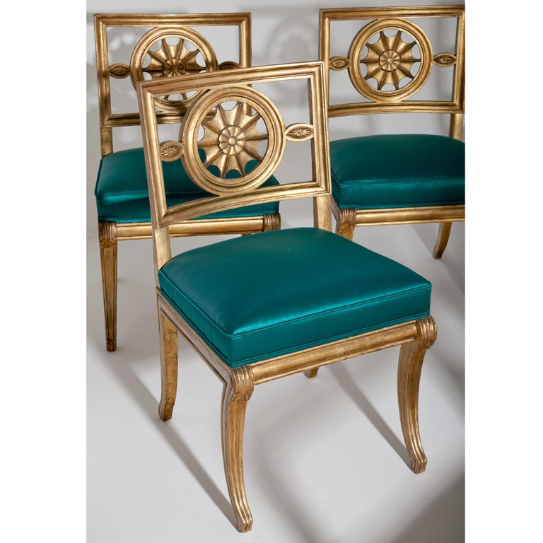 Neoclassical Chairs, Berlin First Half of the 19th Century For Sale 9
