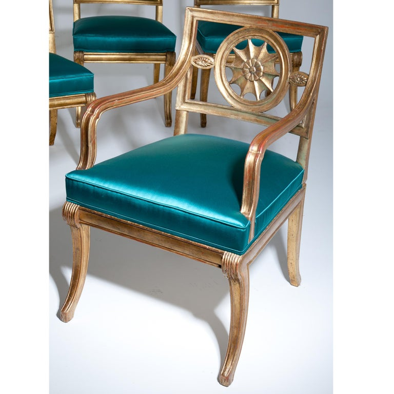 Neoclassical Chairs, Berlin First Half of the 19th Century For Sale 10