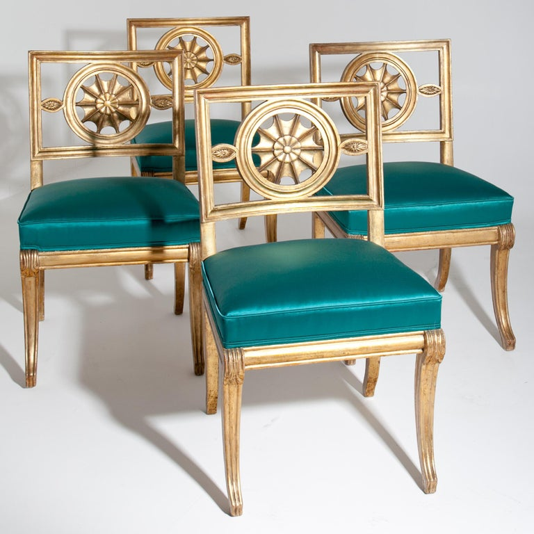 Neoclassical Chairs, Berlin First Half of the 19th Century For Sale 11