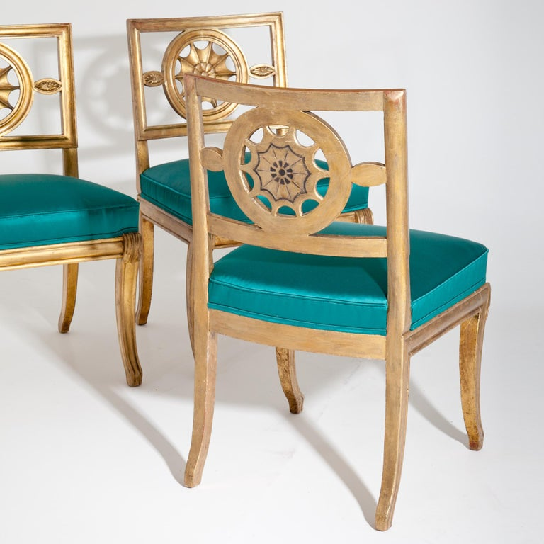German Neoclassical Chairs, Berlin First Half of the 19th Century For Sale