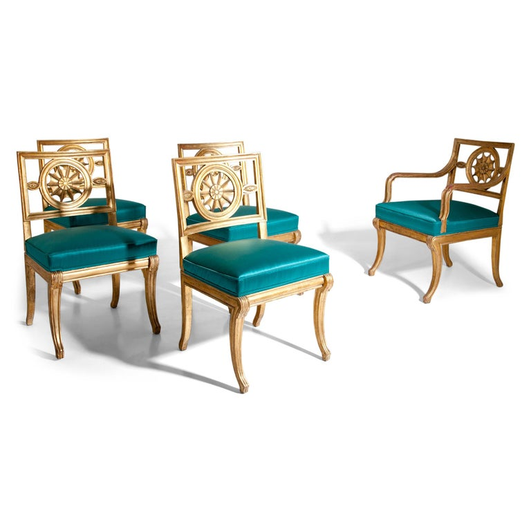 Neoclassical Chairs, Berlin First Half of the 19th Century For Sale 2