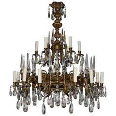 A Very Fine Neoclassical Chandelier