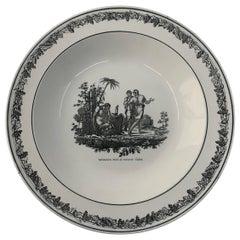 Neoclassical Creil Creamware Plate