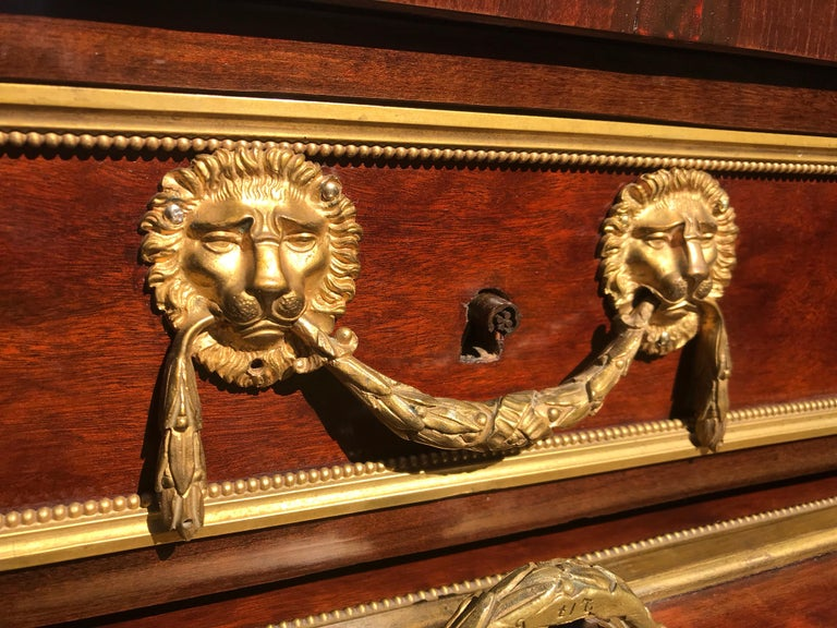 Russian  Neoclassical Desk For Sale