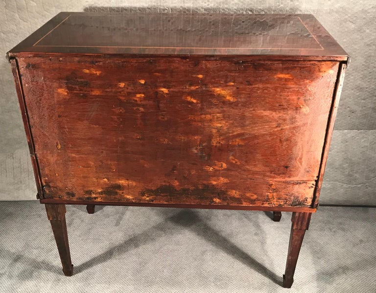 Neoclassical Dresser, Northern Germany 1800, Mahogany For Sale 2